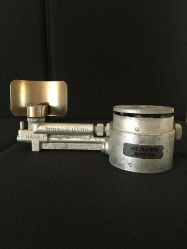 Hanau Touch-O-Matic Mixed Gas Bunsen Burner