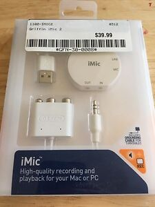 iMic recording and playback for you Mac or PC