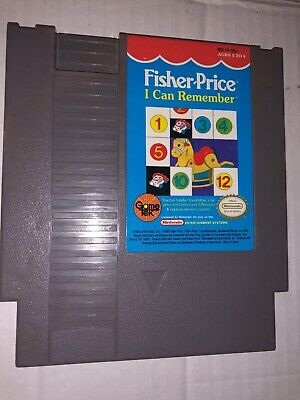 Fisher-Price: I Can Remember (Nintendo Entertainment System 1990) Cartridge Only