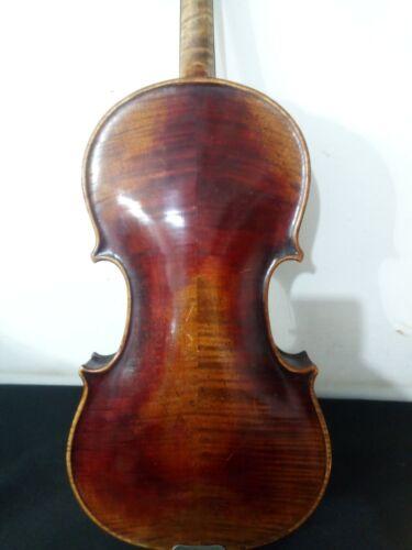 old handmade violin