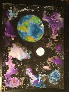 Solar system paintings
