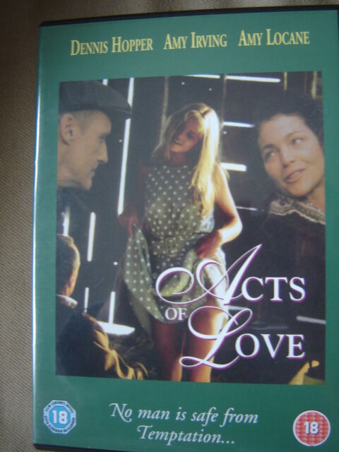 Acts Of Love - Dennis Hopper, Amy Locane, Amy Irving, Gary Busey - Rare
