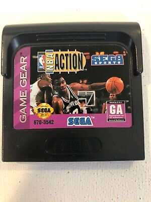 NBA Action Starring David Robinson (Sega Game Gear, 1994)