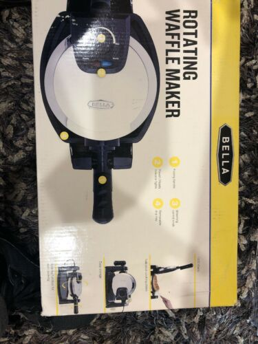 rotating waffle maker gh 805 new open