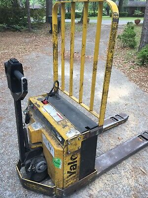 Yale Electric Pallet Jack 4000-pounds Great Price