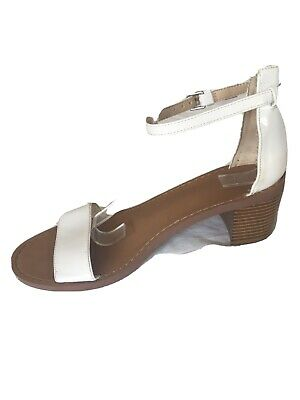 Zara Trafaluc Ladies White Patent Leather Shoes Size 6(M02) for sale  Shipping to Nigeria