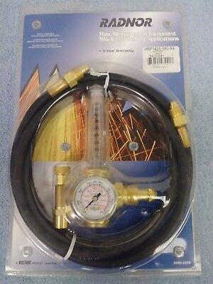 Victor Hrf1425-580-ra Flow Meter Regulator With 10 Argon Gas Hose Migtig