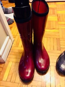 Shoes, boots and rain boots