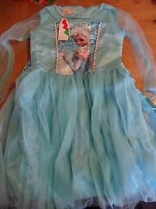 Frozen Disney Bundle Bulk Book Pencils Dress Up Costume 5 Shoes Heathmont Maroondah Area Preview
