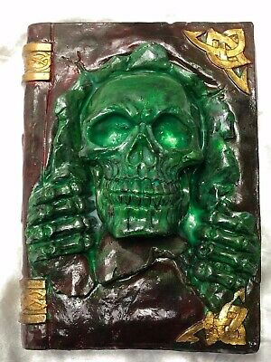 Shakespeare Medieval Style Stone Witches Haunted Blood Book Spells Skull Dead