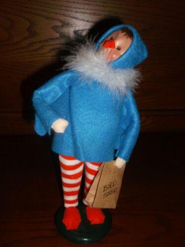 Byers Choice 2001 Halloween Bird Caroler