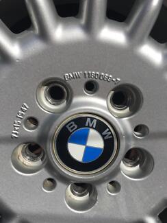 "4 x BMW 15"" ALLOY WHEEL MICHELIN 205/65 R15, 7Jx15, IS47"