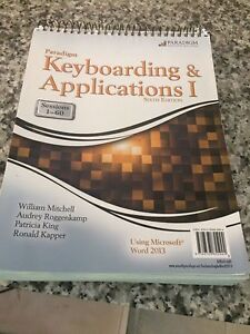 Office administration keyboarding book conestoga college