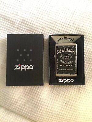 Jack Daniels Zippo Lighter Unused Brand New Condition Authentic Genuine