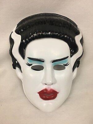 Monsterville The Bride Of Frankenstein Hard Plastic Mask Target