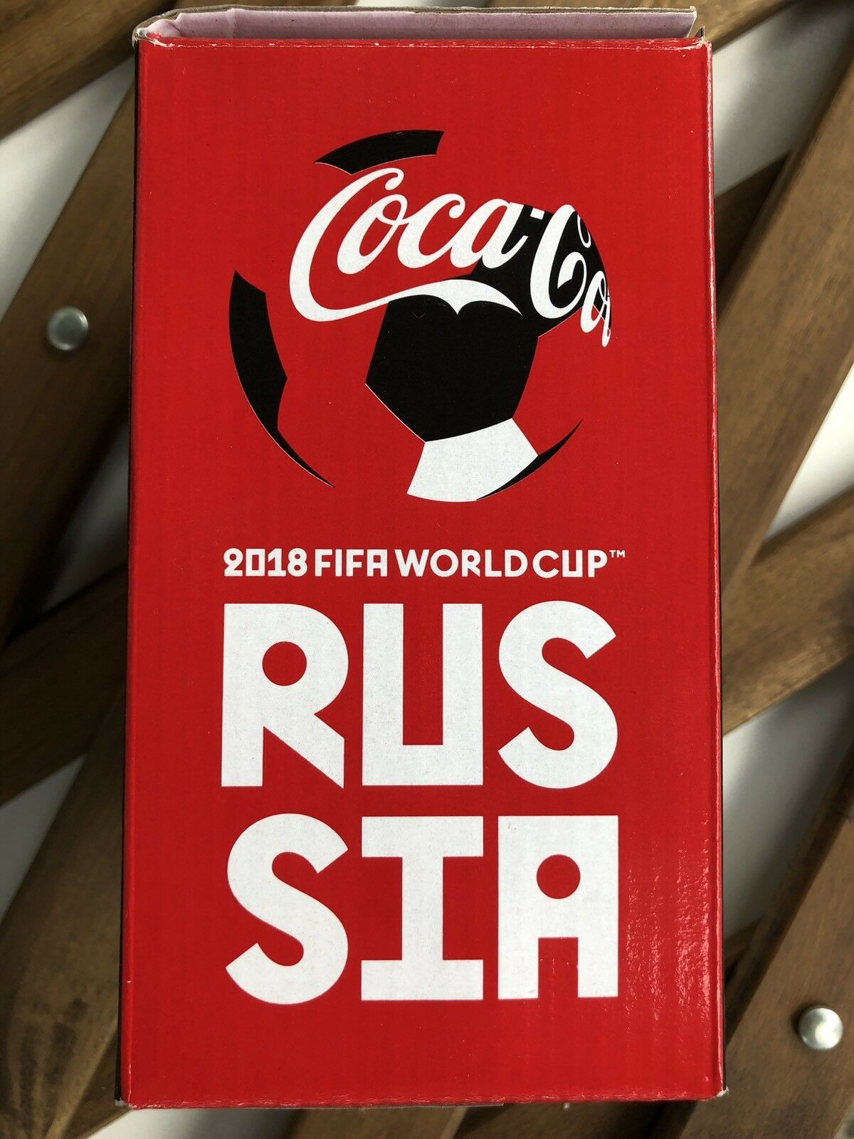 Coca Cola Glass cup Russia 2018 FIFA WORLD CUP football