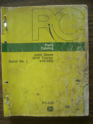 Jd John Deere 3010 Tractor Parts Manual