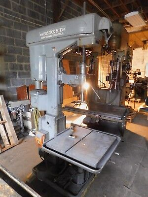 Fosdick 1 Hp Single Spindle Drill Press
