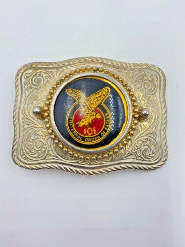 Vintage FOE Fraternal Order of the Eagles Belt Buckle