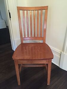 Pottery Barn Solid Wooden Chair Mosman Mosman Area Preview