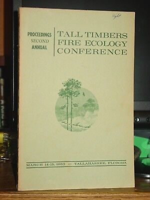 Proceedings Second Annual Tall Timbers Fire Ecology Conference 1963