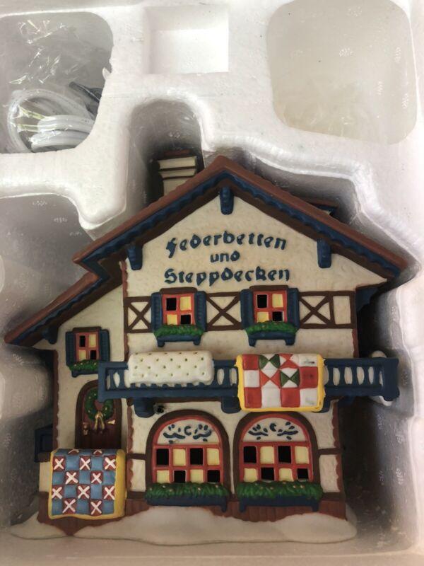 Dept 56 Alpine Village Series Federbetten und Steppdecken #56.56176
