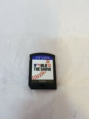 MLB 12 The Show PlayStation Vita PSVITA 2012 Game Only No Case