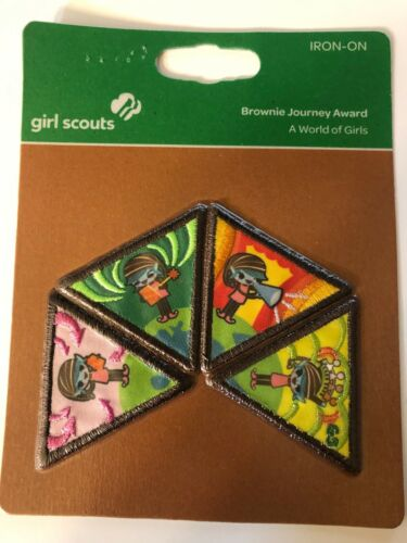 Girl Scout Brownie Journey Award ~ A WORLD OF GIRLS ~ new in package