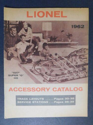 Original 1962 Lionel Trains Accessory Catalog 39pgs EXC Gary Nelson Coll.