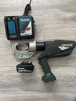 Greenlee Gator Ek1240lx Battery Hydraulic Crimper