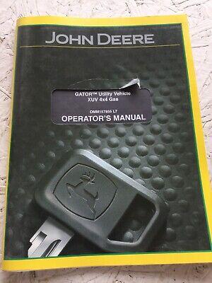John Deere Xuv 4x4 Gas Gator Operators Manual
