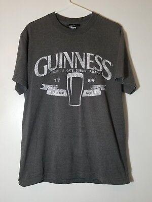 Guinness St James Gate Dublin Ireland T Shirt Large
