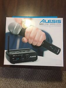Alesis wireless microphone adapter