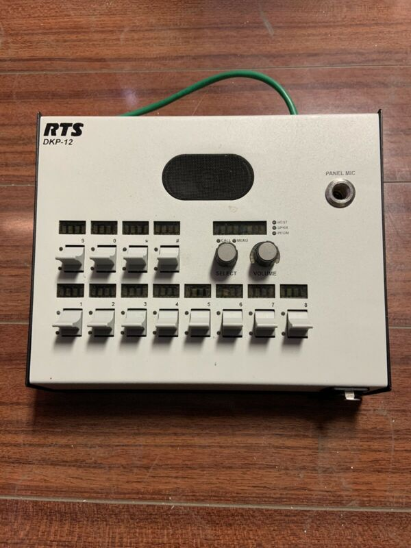 RTS DKP-12 Desk Intercom Key Panel