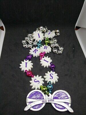 2020 Krewe Of Iris float bead sunglasses bead (Iris Sunglasses)