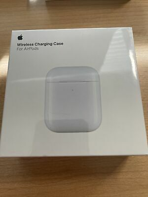 Wireless Charging Case for Apple AirPods with H1 Chip New Sealed Authentic Qi