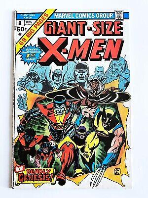 Giant Size X-Men #1 VF- Unrestored - 1st App New X-Men! 3 Day Auction