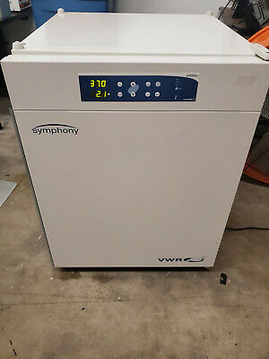 Vwr Symphony 5.3a Air Jacketed Co2 Incubator Laboratories Culture Cell Growth