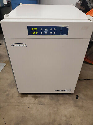 VWR SYMPHONY 5.3A Air Jacketed CO2 Incubator LABORATORIES CULTURE CELL -