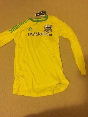 a8ed8dc19 Goalkeeper Jersey Adidas New Yellow Men's Medium