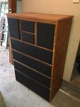 Timber chest of drawers Freemans Reach Hawkesbury Area Preview