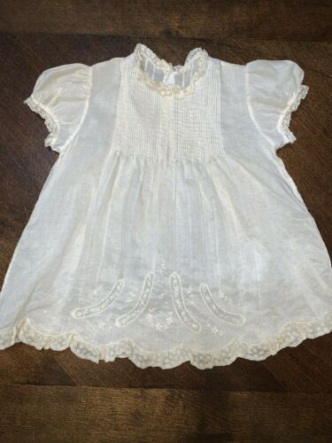 Antique White Baby Doll Dress