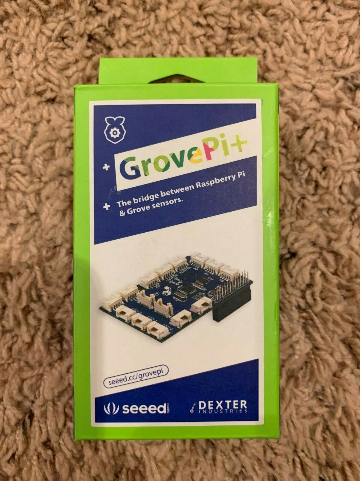 Grovepi+ Expansion Board Compatible with Raspberry Pi B/B+/A