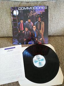COMMODORES-NIGHTSHIFT-LP-VINYL-VINILO-1984-SPANISH-PRESS-G-VG-MOTOWN-SPL1-60191