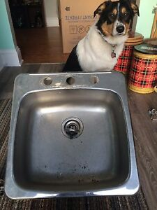 Sink and tap