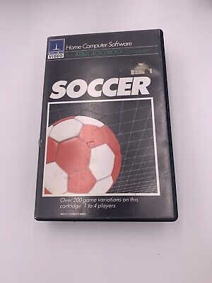 Soccer Atari 400 800 Computer Video Game Cartridge