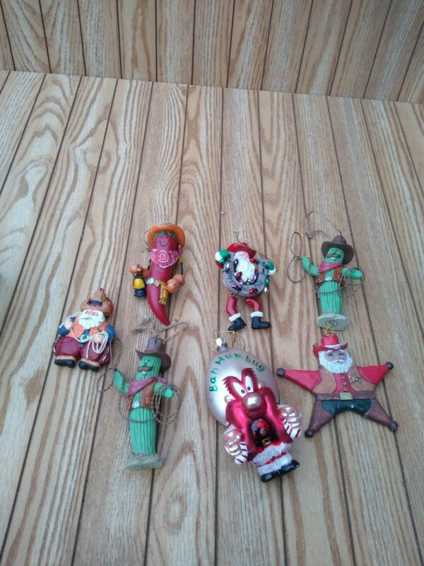 Ornaments For Cowboy Christmas Tree