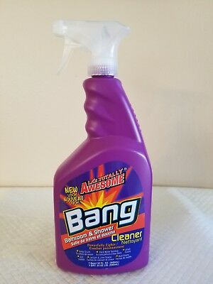 LAs Totally Awesome Bang Bathroom Shower Cleaner One 32 fl oz Bottle Fast (Las Totally Awesome Cleaner)