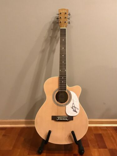* KRISTIAN BUSH * signed autographed acoustic guitar * SUGARLAND * 2