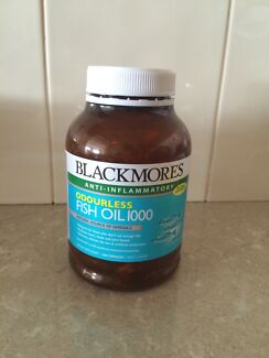 Blackmores fish oil capsule  Erskine Park Penrith Area Preview